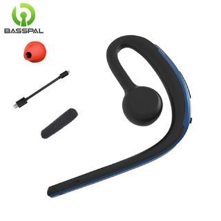 Tai Nghe Bluetooth Basspal D15 Không Dây Kiểu Móc Tai Chống Ồn Có Micro HD Cho Ios Android