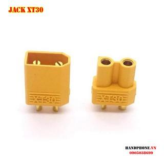 Jack cắm XT30 mạ vàng – Phích nối nguồn điện cho thiết bị điện công suất lớn, RC