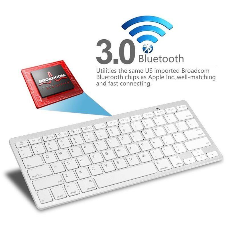 Bàn phím mini bluetooth cho android, iphone, ipad và máy tính – HCP-BKB3001 Giá chỉ 169.000₫