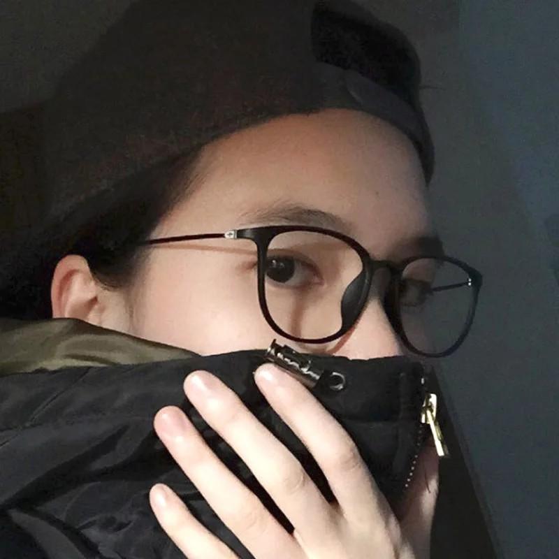 Mắt Kính Gọng Kim Loại Siêu Nhẹ Phong Cách Hàn Quốc Cho Nữ