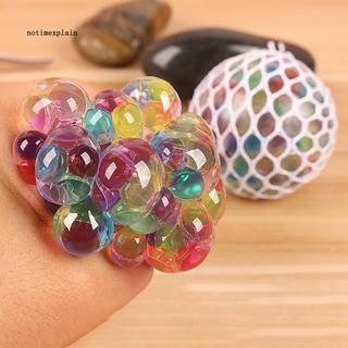 Đồ chơi bóng nhựa phát sáng nhiều màu sắc giúp giảm stress