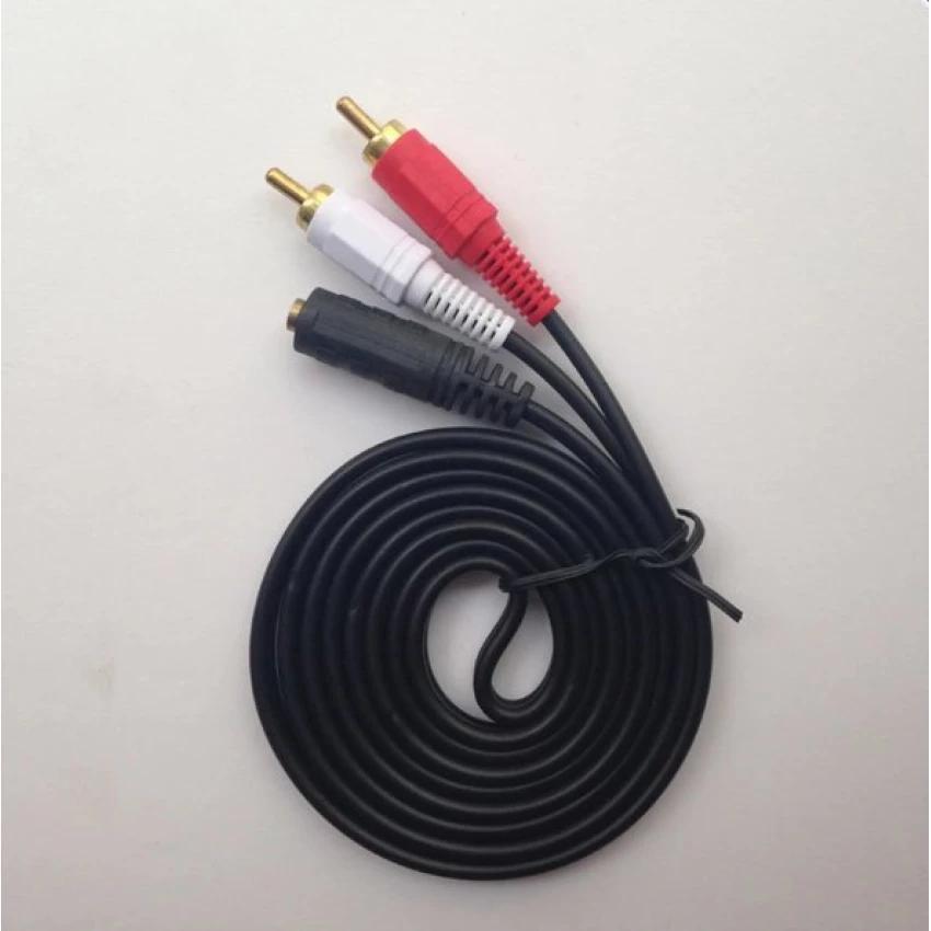 [CỰC HOT]  Cáp audio chất lượng cao RCA - 3.5mm (Cái)