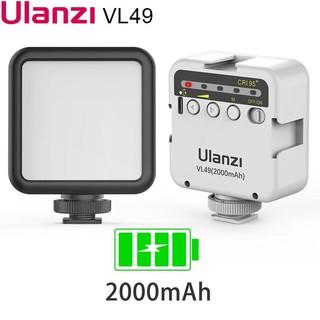 [Mã ELFLASH5 giảm 20K đơn 50K] Đèn Led quay phim Ulanzi VL49 phiên bản mới – tích hợp pin Lithium 2000mAh