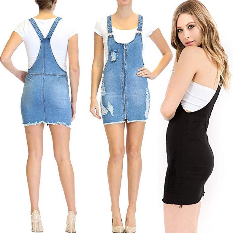 Women Denim dress Sleeveless Dresses short dress Thời Trang Nữ Đầm Đầm dáng xòe Dáng đầm Đầm dáng ôm váy denim váy ngắn - 14015327 , 2716298186 , 322_2716298186 , 329000 , Women-Denim-dress-Sleeveless-Dresses-short-dress-Thoi-Trang-Nu-Dam-Dam-dang-xoe-Dang-dam-Dam-dang-om-vay-denim-vay-ngan-322_2716298186 , shopee.vn , Women Denim dress Sleeveless Dresses short dress Th