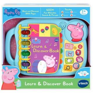 Sách cảm ứng VTech Peppa Pig Learn & Discover Book