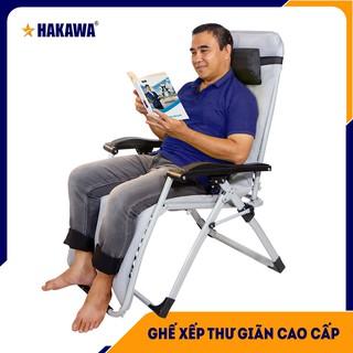 Bảo hành 25 năm - Ghế xếp thư giãn HAKAWA - Nghệ Sĩ Quyền Linh tin dùng