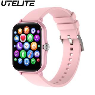 Đồng hồ thông minh UTELITE Y20/p8Plus màn hình 1.69 Inch chống nước theo dõi nhịp tim thể thao dành cho nam/nữ
