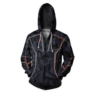 Áo Hoodie In Hình Người Sắt Tony Size S-4xl