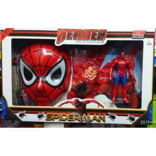 Mặt nạ Siêu nhân Spider Man Hero cho bé