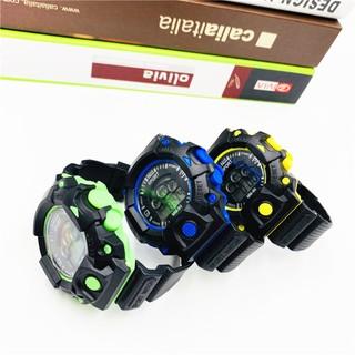 Đồng hồ điện tử nam nữ Sport SP08 đèn led nhiều màu cực đẹp, mẫu mới thể thao cá tính
