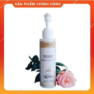 Tẩy Tế Bào Chết Cho Da Mặt – ORGA – ORGANIC BROWN RICE & ROYAL JELLY 120ML