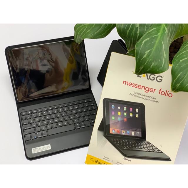 """Bàn phím bluetooth Zagg messenger folio cho iPad 9.7"""" Giá chỉ 650.000₫"""