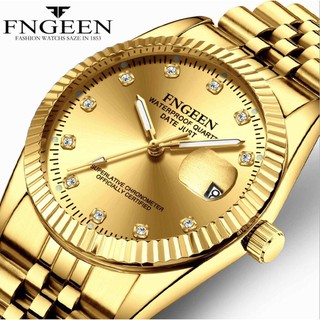 Đồng hồ nam FNGEEN FN01 mặt đính đá cực đẹp