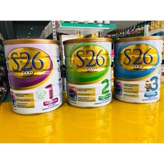 Sữa bột S26 900g Úc (đủ số 1,2,3)