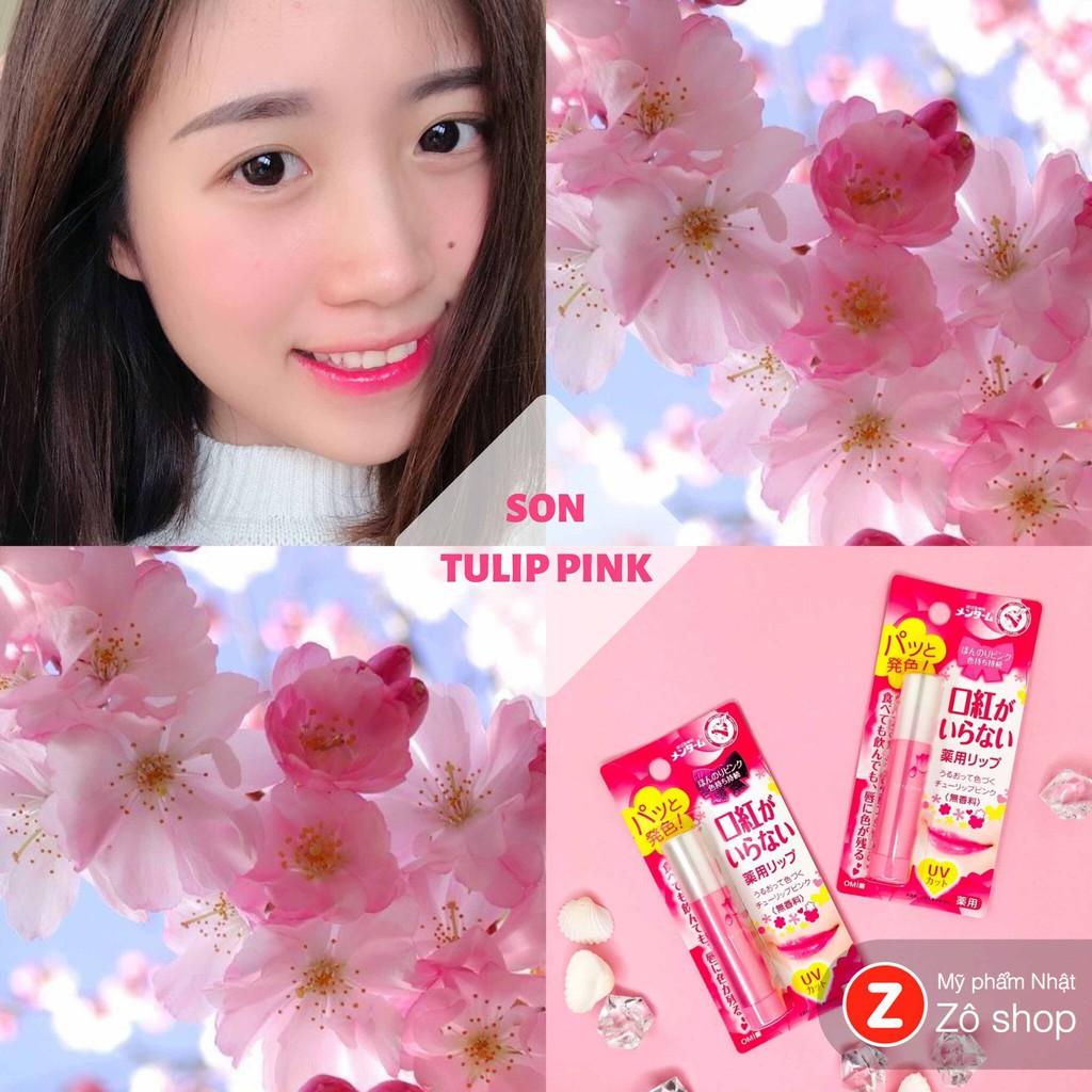 Son dưỡng chống nắng - Omi Tulip Pink UV cut