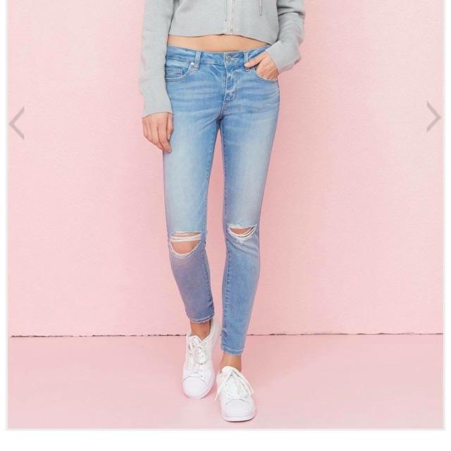 Quần jeans rách siêu xinh