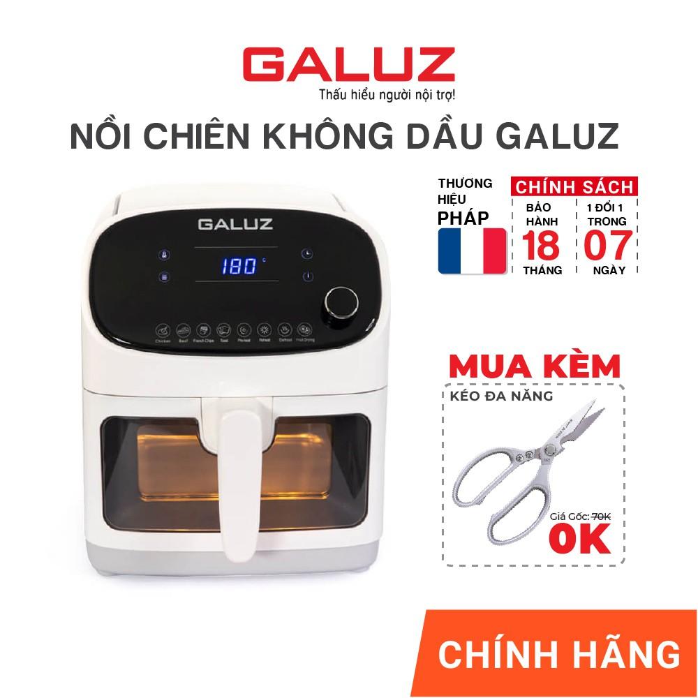 Ớ Nồi Chiên Không Dầu thông minh XIAOMI Liven G5 2.5L -006251 - Hàng Chính  bán 2,109,975đ