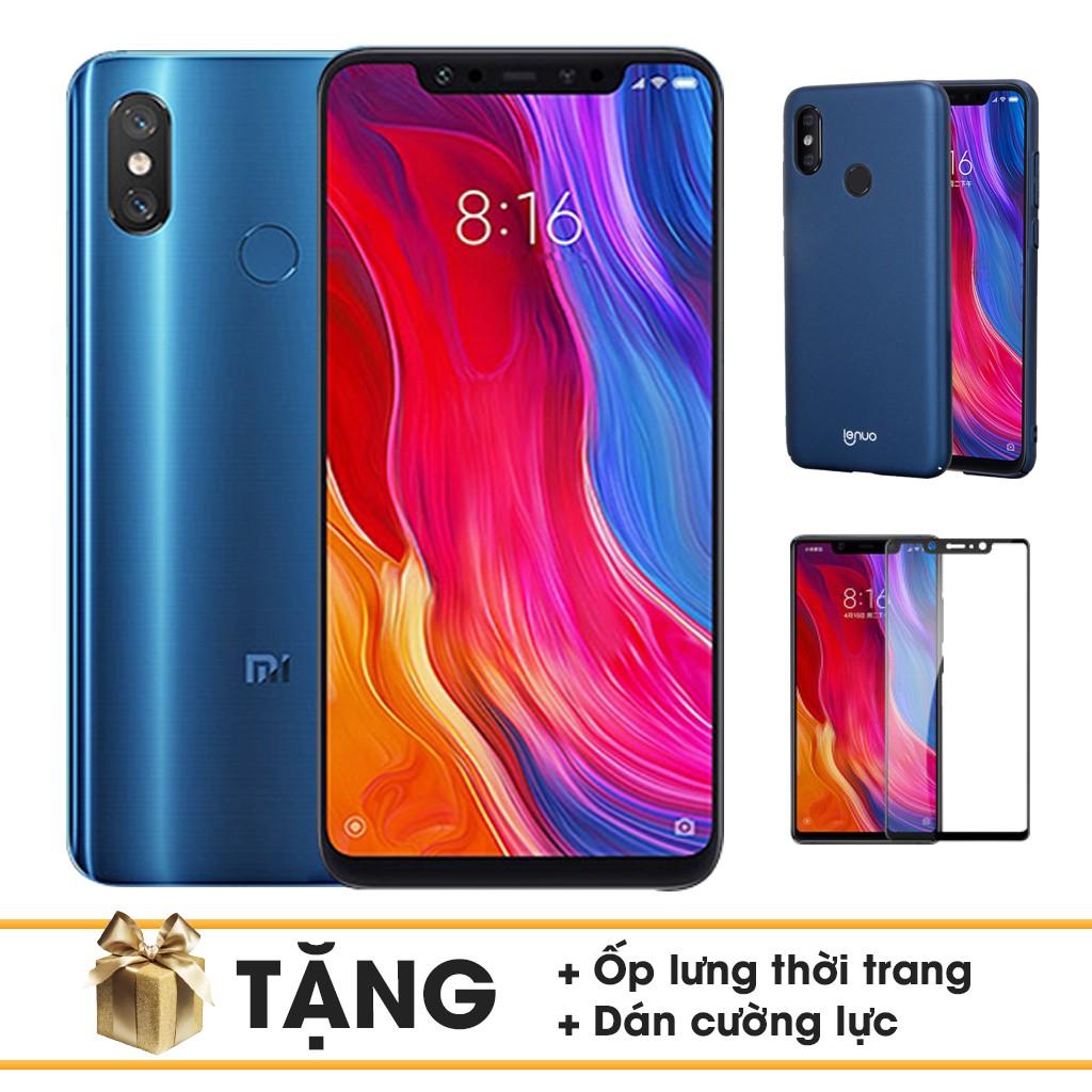 Điện Thoại Xiaomi Mi 8 128Gb Ram 6Gb + Ốp Lưng + Dán CƯờng Lực - Hàng Nhập Khẩu - 3572199 , 1310413015 , 322_1310413015 , 11390000 , Dien-Thoai-Xiaomi-Mi-8-128Gb-Ram-6Gb-Op-Lung-Dan-CUong-Luc-Hang-Nhap-Khau-322_1310413015 , shopee.vn , Điện Thoại Xiaomi Mi 8 128Gb Ram 6Gb + Ốp Lưng + Dán CƯờng Lực - Hàng Nhập Khẩu