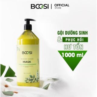Mặt nạ dưỡng sinh Bcosi phục hồi tóc hư tổn và bảo vệ da đầu Bcosi Recovery Damage Mask 500ml thumbnail