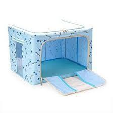 Tủ vải khung thép chịu lực (Xanh Nhạt)