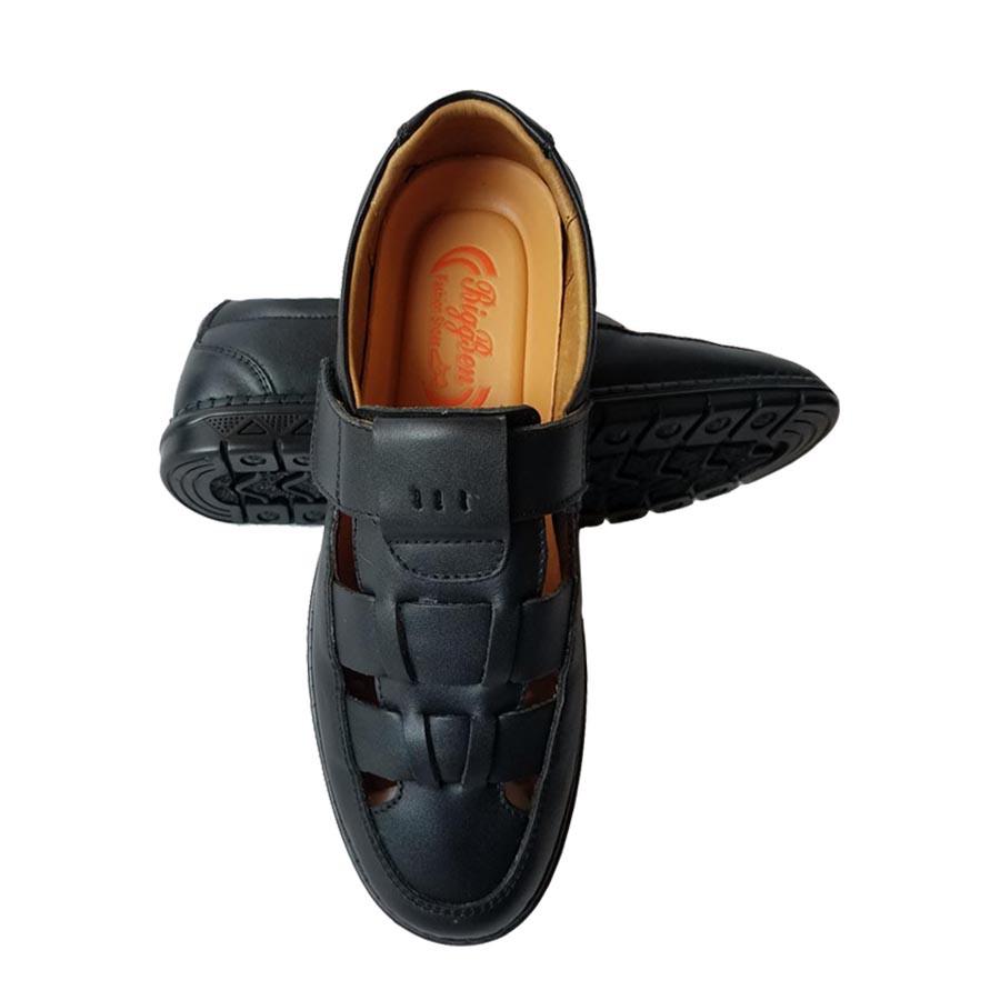 Giày Mọi Rọ Nam BIGBEN Da Bò Thật Cao Cấp GM130