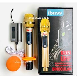 Micro Karaoke Không Dây Bluetooth Tăng Âm Minchan UHF IBass - dành cho tất cả loa kéo, amply hỗ trợ zack 6.5mm
