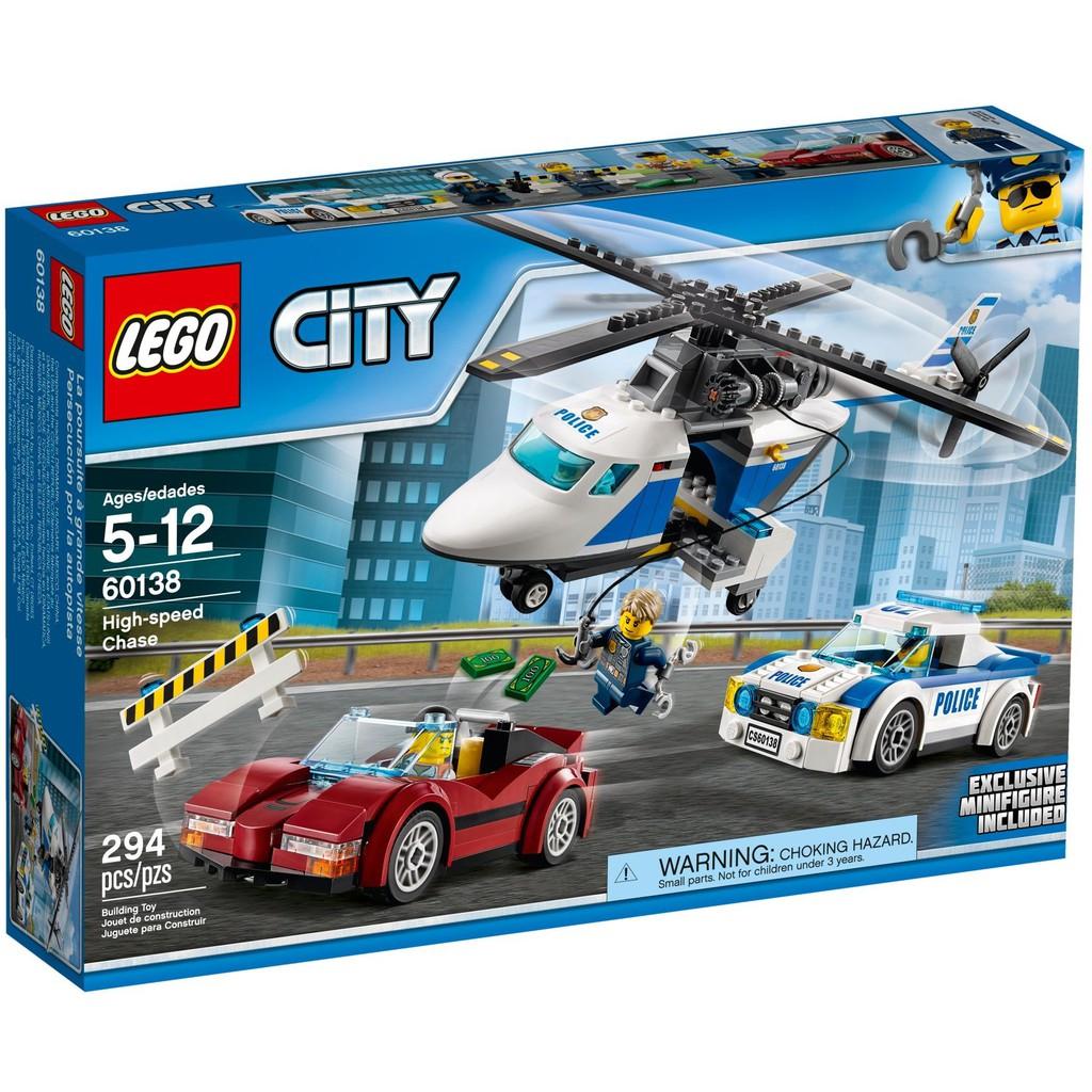 Lego 60138 - Đội Máy Bay và Xe Cảnh Sát