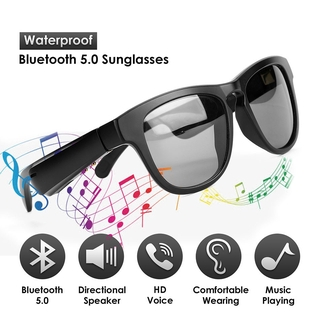 AS2 Smart Audio Eyewear Bluetooth 5.0 Headset Wearable Music Sunglasses Wireless Audio Stereo Music Polarized Sunglasses