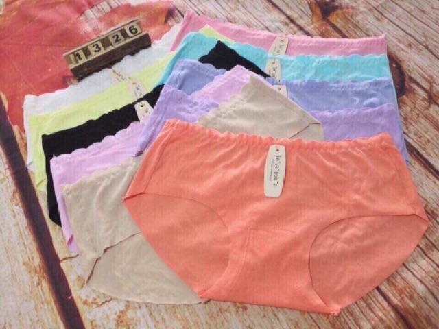 quần lót coton đúc hàng  from 45-65kg 120k/1 lố 10 quần