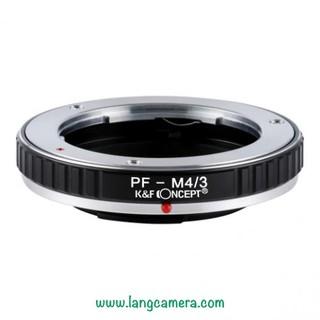 Ngàm chuyển ống kính PenF-M4/3 hiệu K&F Concept