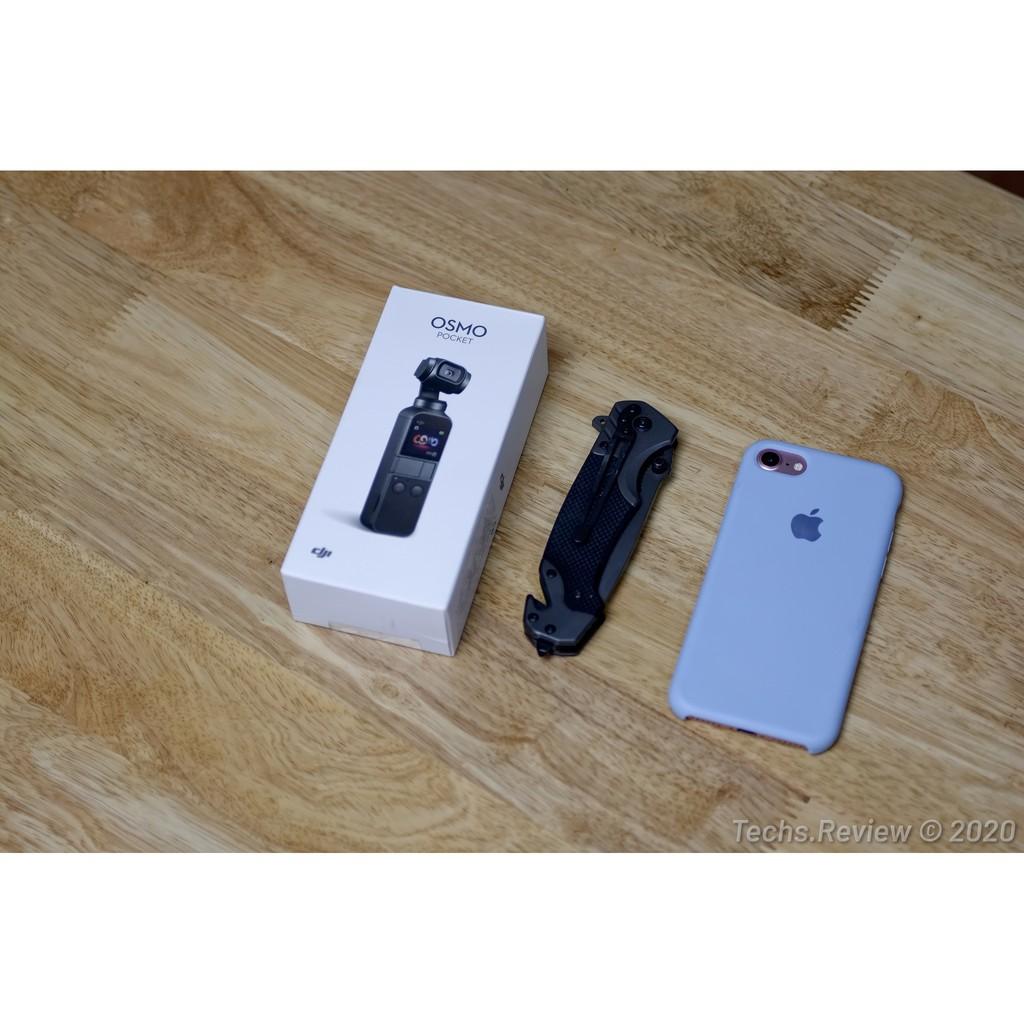 DJI Osmo Pocket Camera Gimbal quay phim chống rung quang học 4K 60fps, fullbox, tặng bộ phụ kiện
