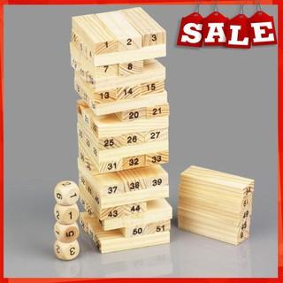 [BÁN LẺ] Trò chơi rút gỗ 54 thanh size nhỏ cho mọi lứa tuổi [HOT]