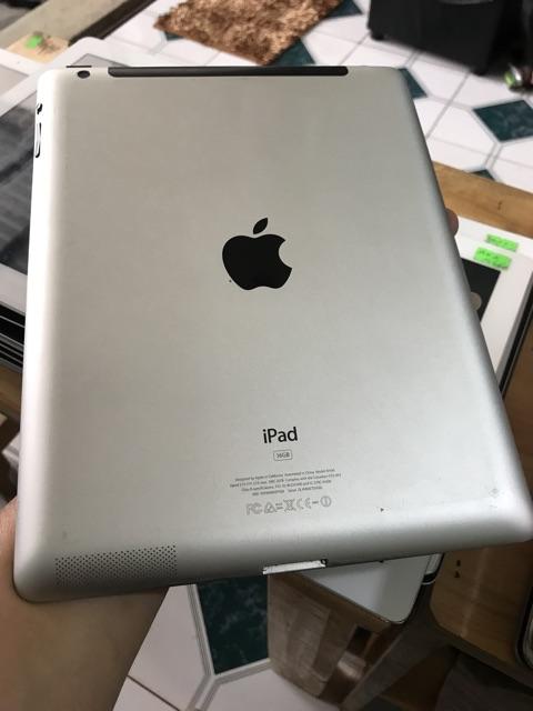 iPad 3 wifi 3G - 16G zin all, máy đẹp 98%