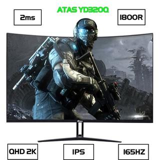 Màn hình Máy Tính Gaming cong ATAS YS320Q - Tần số quét 165Hz - Tấm nền IPS - Độ phân giải 2k thumbnail