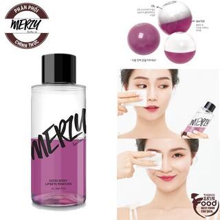 Tẩy Trang Mắt Môi Chuyên Dụng Merzy Good Berry Lip Eye Remover thumbnail