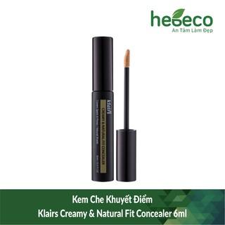 Kem Che Khuyết Điểm Klairs Creamy & Natural Fit Concealer 6ml - Hàn Quốc Chính Hãng