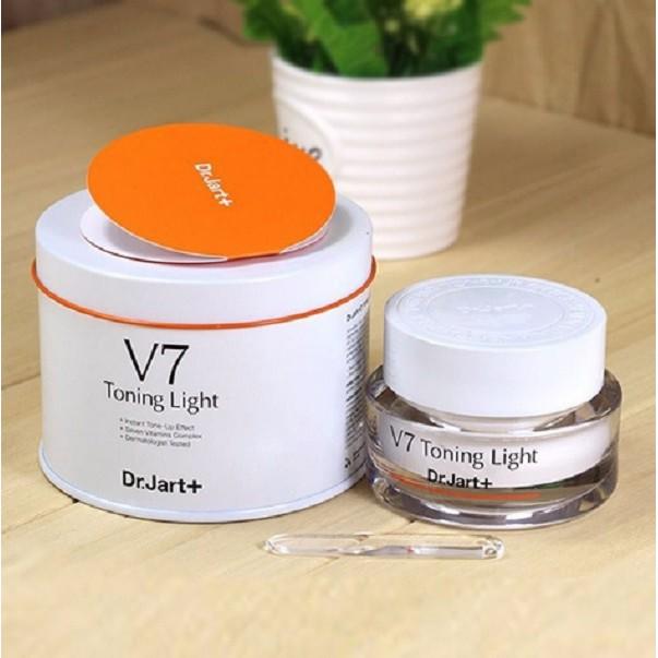 Kem dưỡng trắng trị thâm nám Dr.Jart+ V7 Toning Light - Chính hãng - 2667714 , 1224477586 , 322_1224477586 , 600000 , Kem-duong-trang-tri-tham-nam-Dr.Jart-V7-Toning-Light-Chinh-hang-322_1224477586 , shopee.vn , Kem dưỡng trắng trị thâm nám Dr.Jart+ V7 Toning Light - Chính hãng