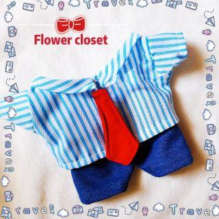summer jean quần áo cho doll 20cm
