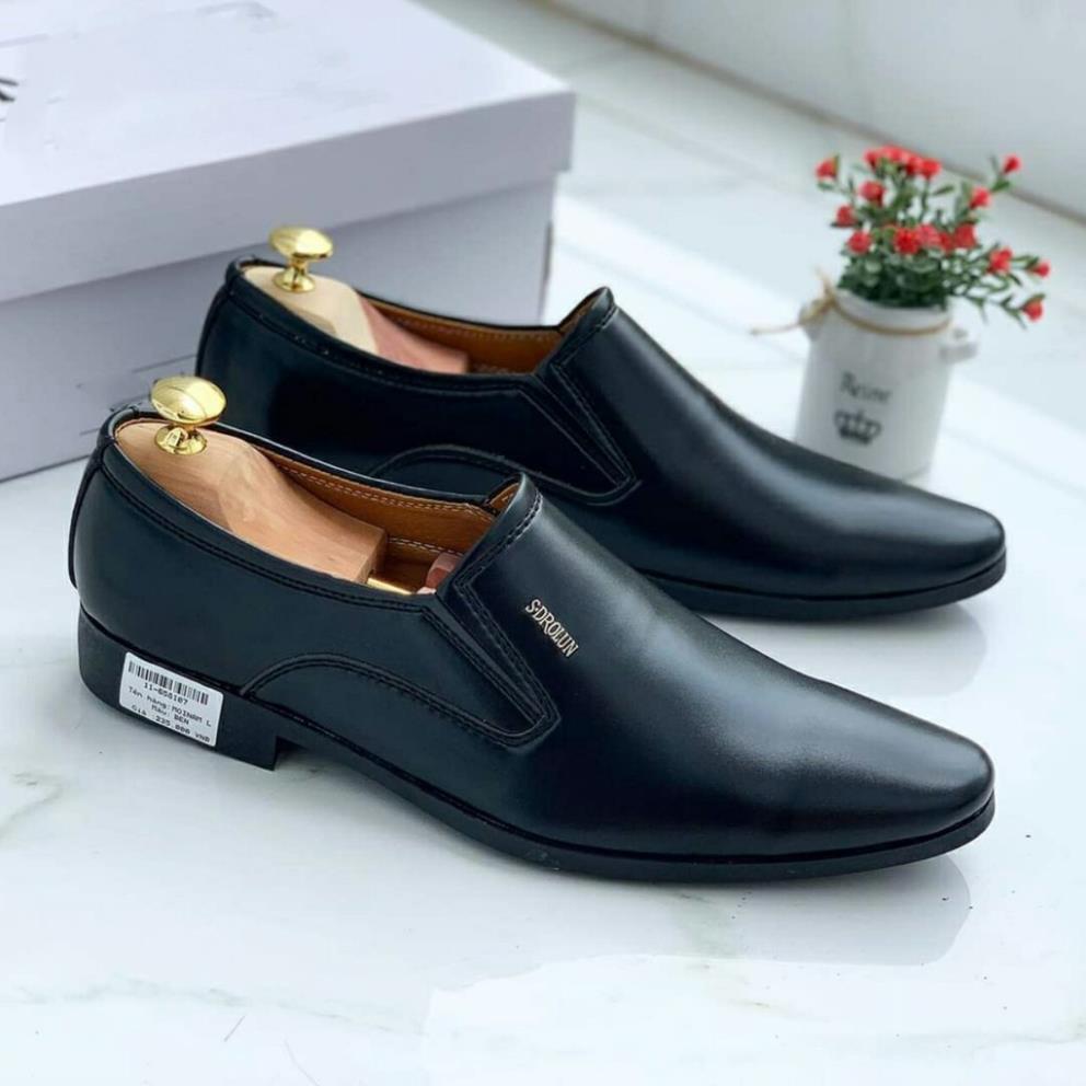 Giày tây nam không dây lịch lãm PQ29