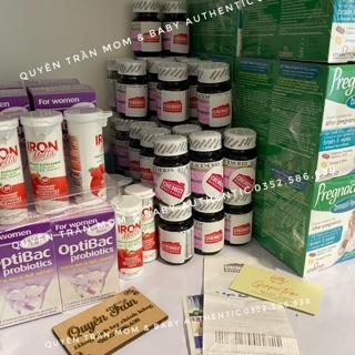 Viên sắt bầu (30v) ngăn ngừa thiếu máu, không gây táo bón cho mẹ bầu và mẹ sau sinh Blackmores Pregnancy Iron, Úc