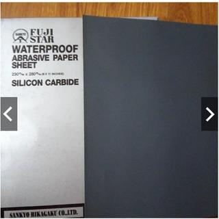 Giấy nhám mịn, giấy ráp mịn Fujistar Nhật Bản 320 - 600-800 -1000 -500- 2000 (Giá Sỉ Inbox) thumbnail