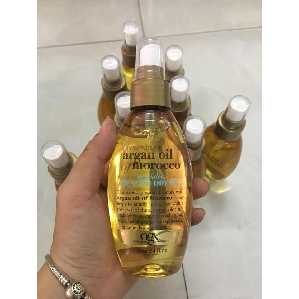 Xịt dưỡng tóc OGX Argan Oil Of Morocco chiết xuất tinh dầu Argan Oil Ma-rốc - 2476441 , 1328983803 , 322_1328983803 , 220000 , Xit-duong-toc-OGX-Argan-Oil-Of-Morocco-chiet-xuat-tinh-dau-Argan-Oil-Ma-roc-322_1328983803 , shopee.vn , Xịt dưỡng tóc OGX Argan Oil Of Morocco chiết xuất tinh dầu Argan Oil Ma-rốc