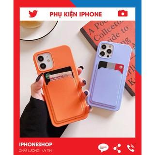[ HOT ] Ốp Lưng Iphone – Ốp lưng Túi Card, kiêm ví đựng tiền, thẻ full mã Iphone 7plus/8/8plus/x/xs/11/12/promax