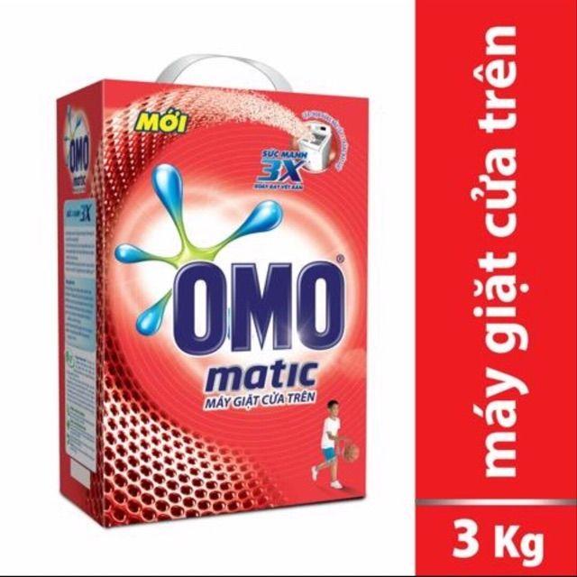 bột giặt omo matic 3kg cho máy giặt cửa trên - 3309704 , 1090186024 , 322_1090186024 , 147000 , bot-giat-omo-matic-3kg-cho-may-giat-cua-tren-322_1090186024 , shopee.vn , bột giặt omo matic 3kg cho máy giặt cửa trên