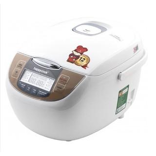 [ELHATOP11 giảm 9% tối đa 1TR5] Nồi Cơm Điện Tử Đa Năng 1.8 Lít Happy Cook RICO HCJ-180D