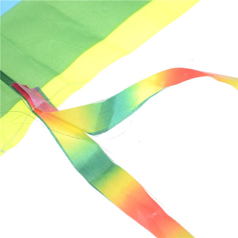 NEW❤❤1PC Rainbow Kite Outdoor Baby Toys For Kids Kites without Control B