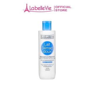 Sữa tẩy trang Evoluderm dành cho da thường bổ sung Vitamin E và dưỡng ẩm cho làn da 250ml (3060)