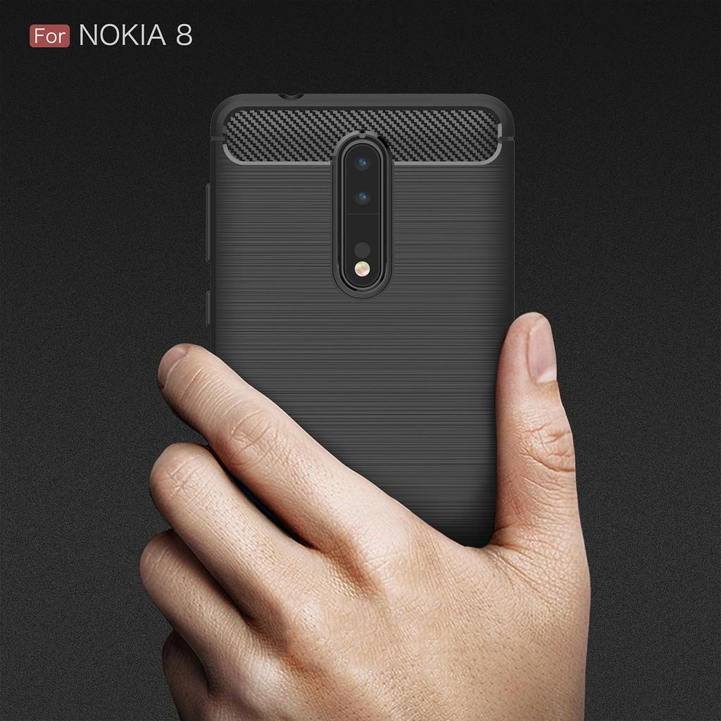 Ốp lưng silicone chống sốc cho Nokia 8