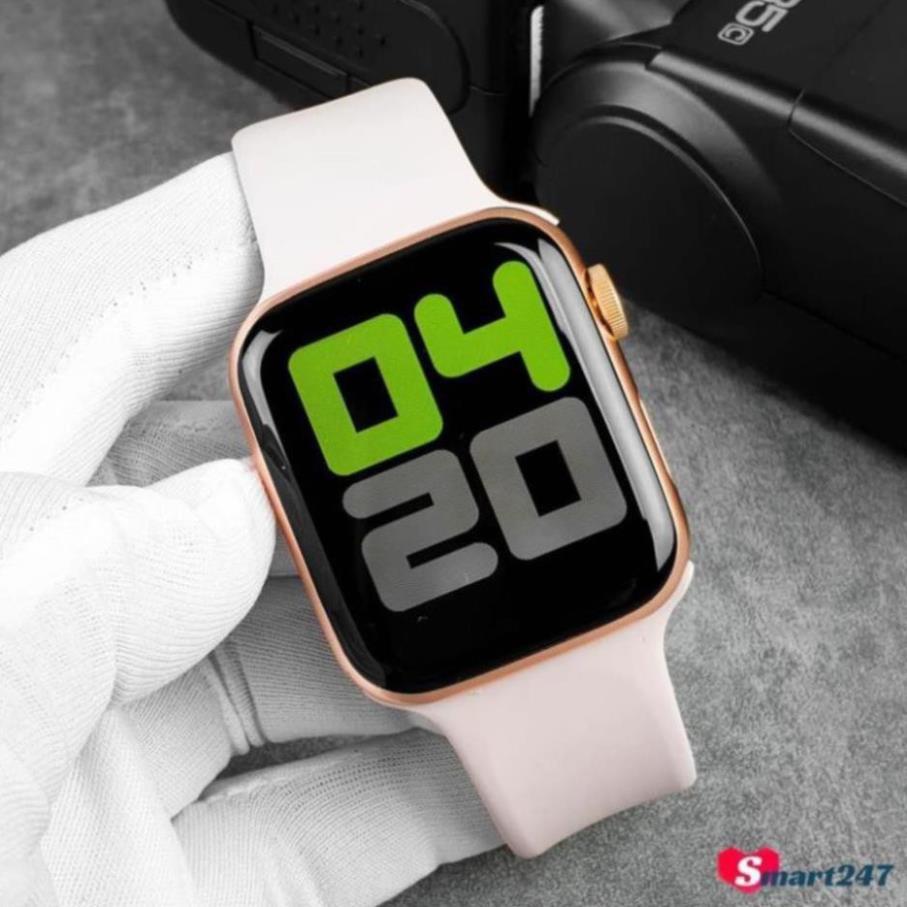Đồng Hồ Thông Minh T500 Seri 5  Kết Nối Bluetooth Kích Thước 44mm Đo Nhịp Tim Chống Nước IP67 [vthm9]