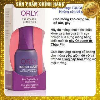 Sơn dưỡng móng Orly TOUGH COOKIE, nhập khẩu Mỹ, chính hãng, có phiếu công bố mỹ phẩm